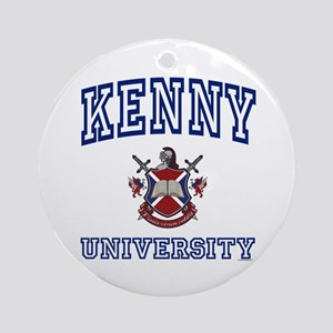 KENNY University Ornament (Round)