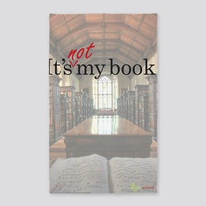 Its-Not-My-Book_23-35 3'x5' Area Rug