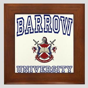BARROW University Framed Tile