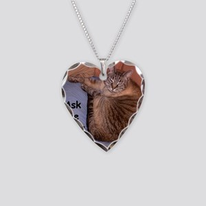 AskAfterCoffee Necklace Heart Charm
