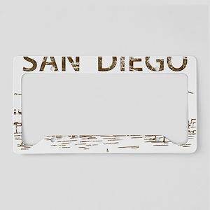 San Diego1 License Plate Holder