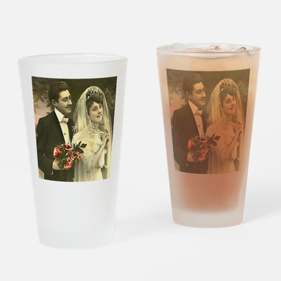 WEDDING COUPLE Drinking Glass