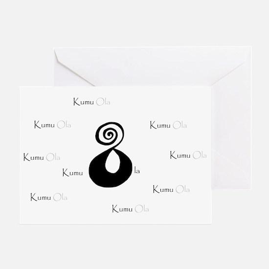 Kumu Ola 2tone Greeting Card