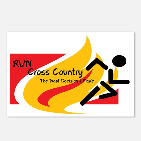 Cross Country.gif Postcards (Package of 8)