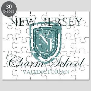 Vintage NJ Charm School Valedictorian Puzzle