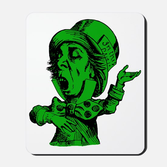 Mad Hatter Green Fill Mousepad