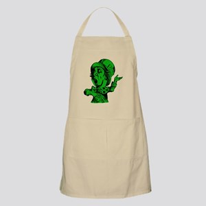 Mad Hatter Green Fill Apron