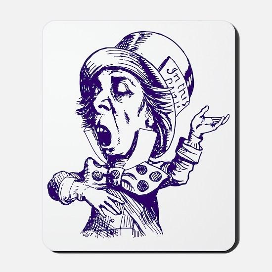 Mad Hatter Purple Mousepad