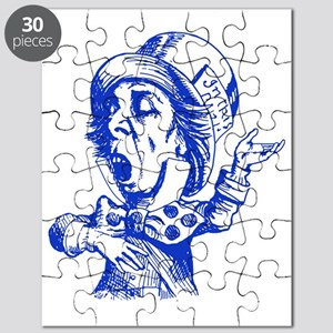Mad Hatter Blue Puzzle