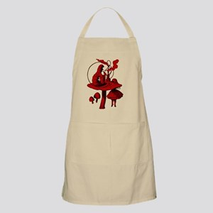 Alice and Caterpillar Red Fill Apron
