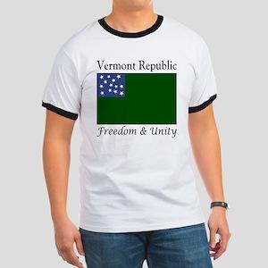 Vermont Republic Freedom & Unity Ringer T
