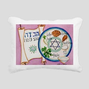 Hagadah Rectangular Canvas Pillow