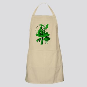 Alice and Caterpillar Green Fill Apron