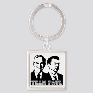TEAMPAUL-10x10 Square Keychain