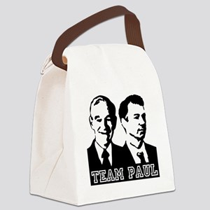 TEAMPAUL-10x10 Canvas Lunch Bag
