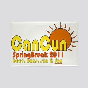 cancunshirt Rectangle Magnet