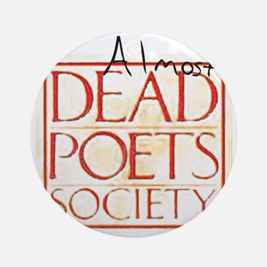 dead_poets_society copy Round Ornament