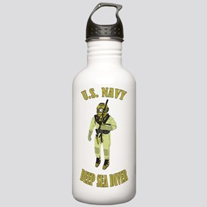 U.S. Navy Deep Sea Div Stainless Water Bottle 1.0L