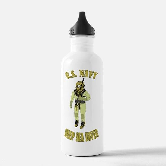 U.S. Navy Deep Sea Div Water Bottle