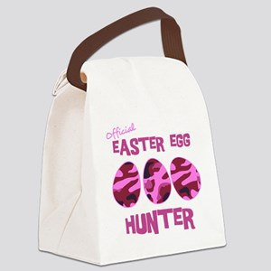 hunter_dark_girl Canvas Lunch Bag