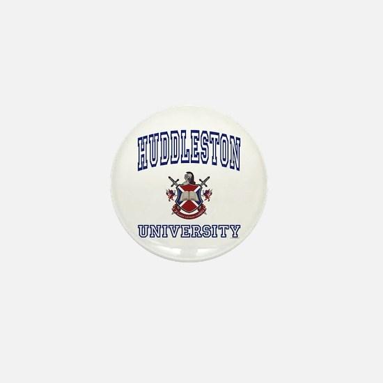 HUDDLESTON University Mini Button