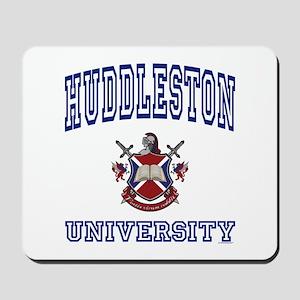 HUDDLESTON University Mousepad