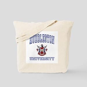 HUDDLESTON University Tote Bag