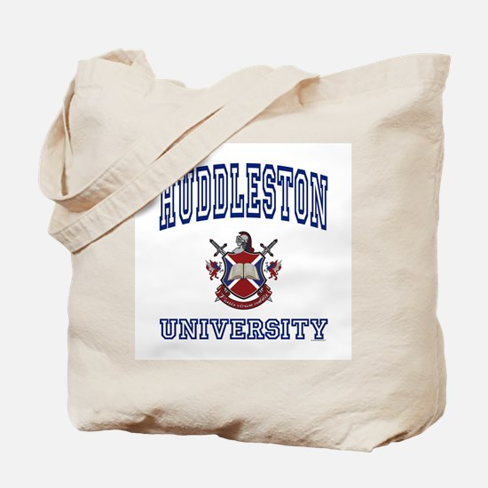 HUDDLESTON University Tote Bag