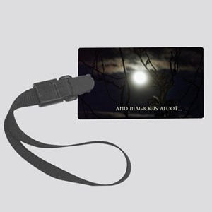 Full Moon Card Large Luggage Tag