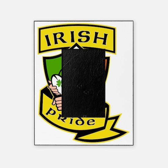 Irish leprechaun rugby player celtic Picture Frame
