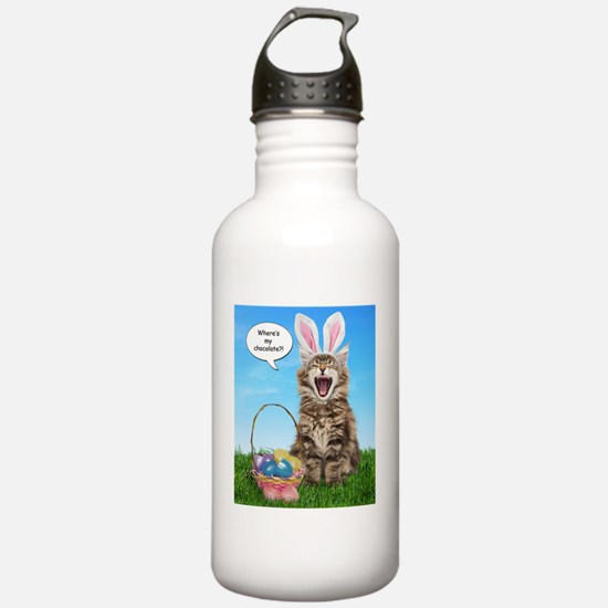 easterkitten_t Water Bottle