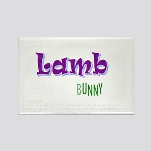 Its about a Lamb - Easter Rectangle Magnet