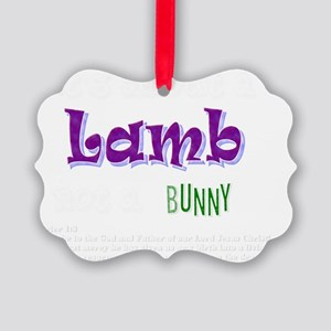 Its about a Lamb - Easter Picture Ornament