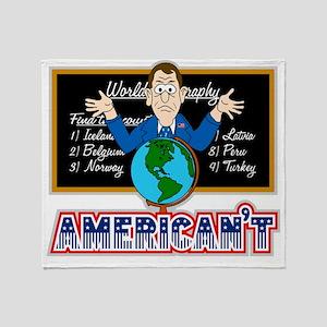 Americant Throw Blanket