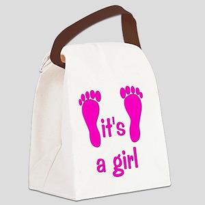 feet_itsagirl Canvas Lunch Bag
