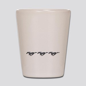 Mens mustang Shot Glass