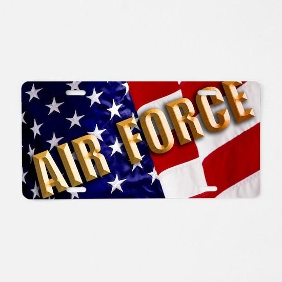 36-113AF  Aluminum License Plate