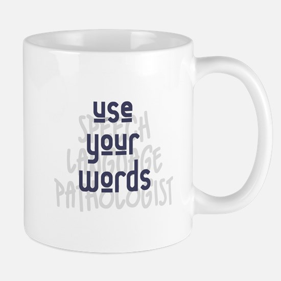 Use Your Words 2 Mugs