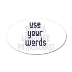 Use Your Words 2 Wall Decal