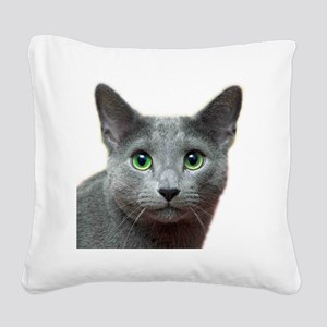 RBlue_smaller Square Canvas Pillow