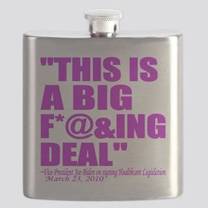 This is a big deal purple Flask
