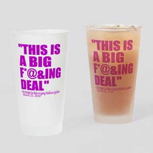 This is a big deal purple Drinking Glass