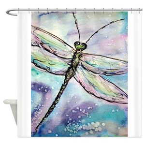 Dragonfly Shower Curtains