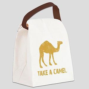 Camel2 Canvas Lunch Bag