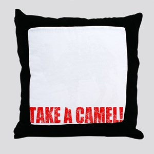 Camel -dk Throw Pillow