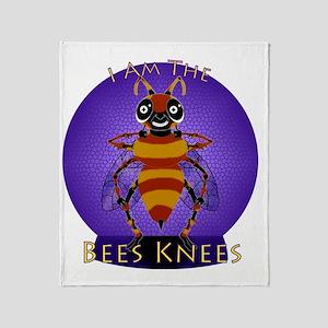 BeesKneesNBG Throw Blanket
