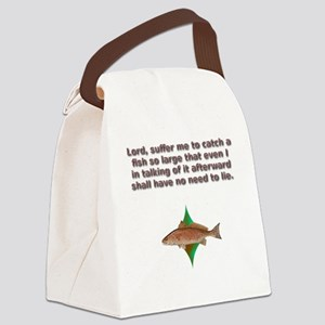 reddrumprayer Canvas Lunch Bag