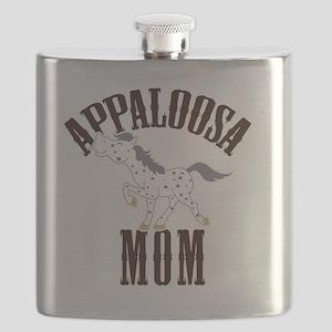 Appaloosa Mom Blue Roan Appy Flask