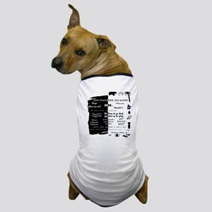 best lines lost text and pictures for  Dog T-Shirt