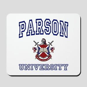 PARSON University Mousepad